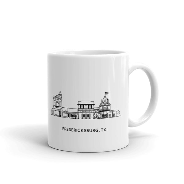 Fredericksburg Texas 11oz Coffee Mug