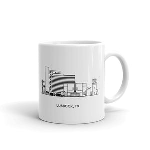 Lubbock Texas 11oz Coffee Mug
