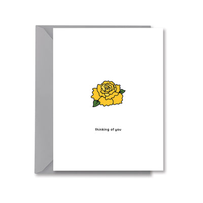 thinking of you Greeting Card by Kelly Renay