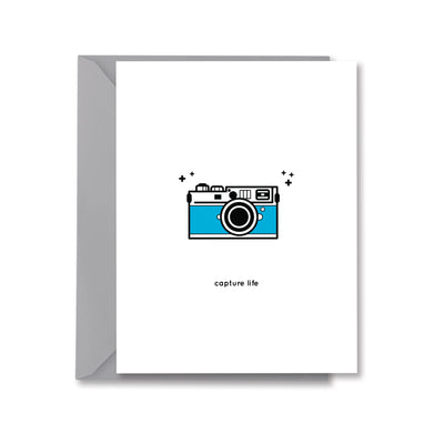 Capture Life Greeting Card by Kelly Renay