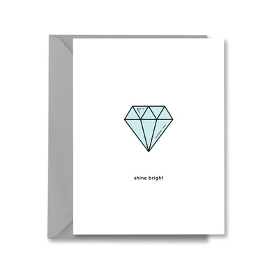 shine bright Greeting Card by Kelly Renay