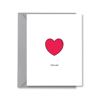 i love you Greeting Card by Kelly Renay