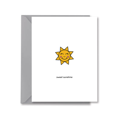 sweet sunshine Greeting Card by Kelly Renay