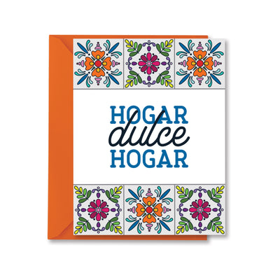 Hogar Dulce Hogar greeting card by kelly renay