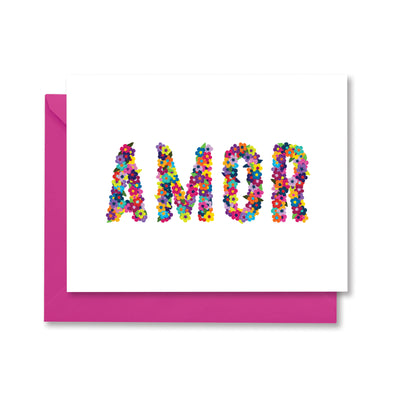 Amor Greeting Card by Kelly Renay