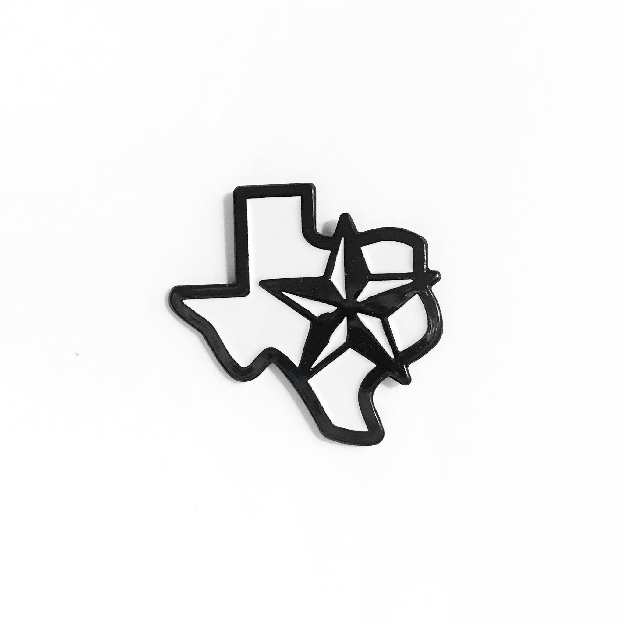 Texas Star Enamel Pin
