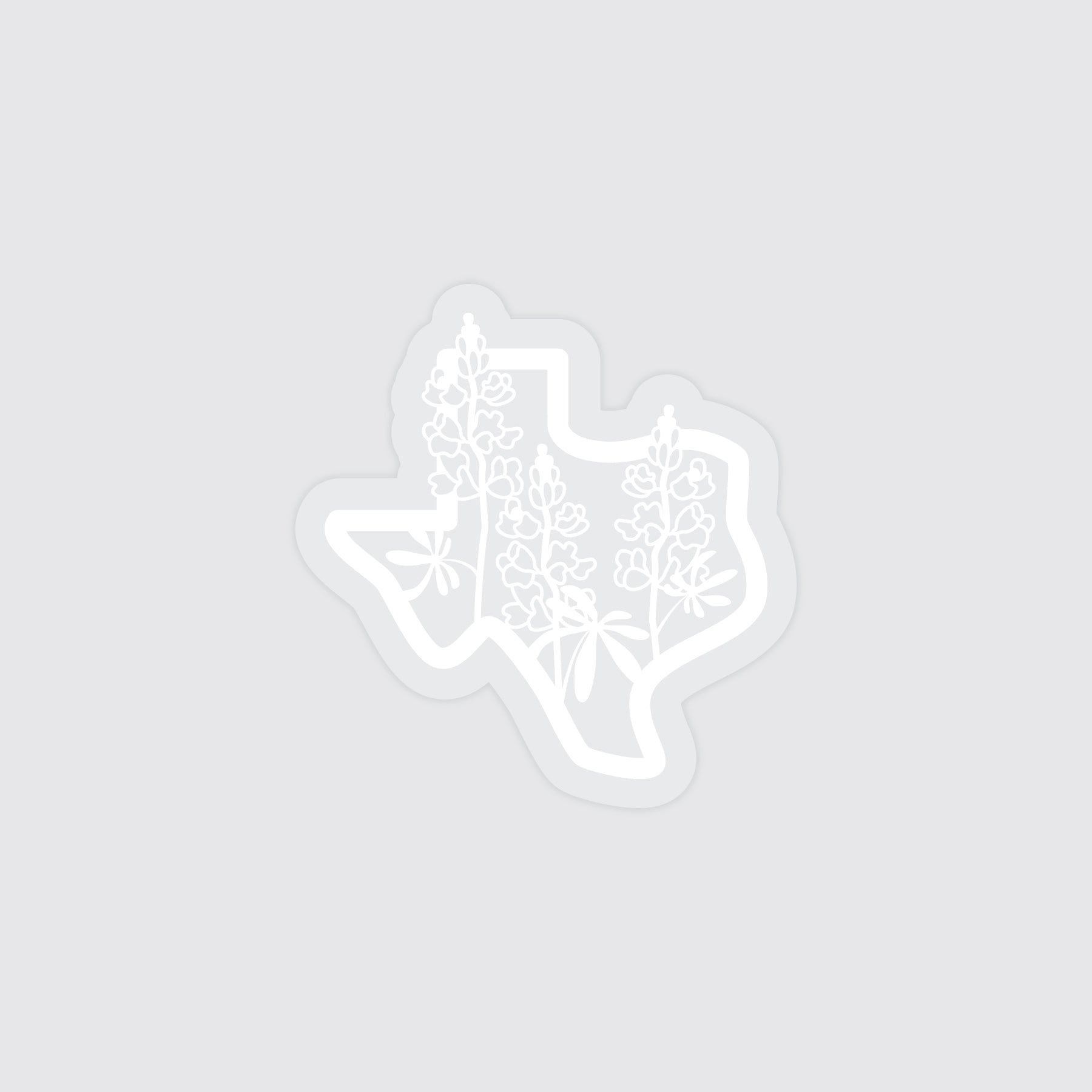 Texas Bluebonnet Sticker