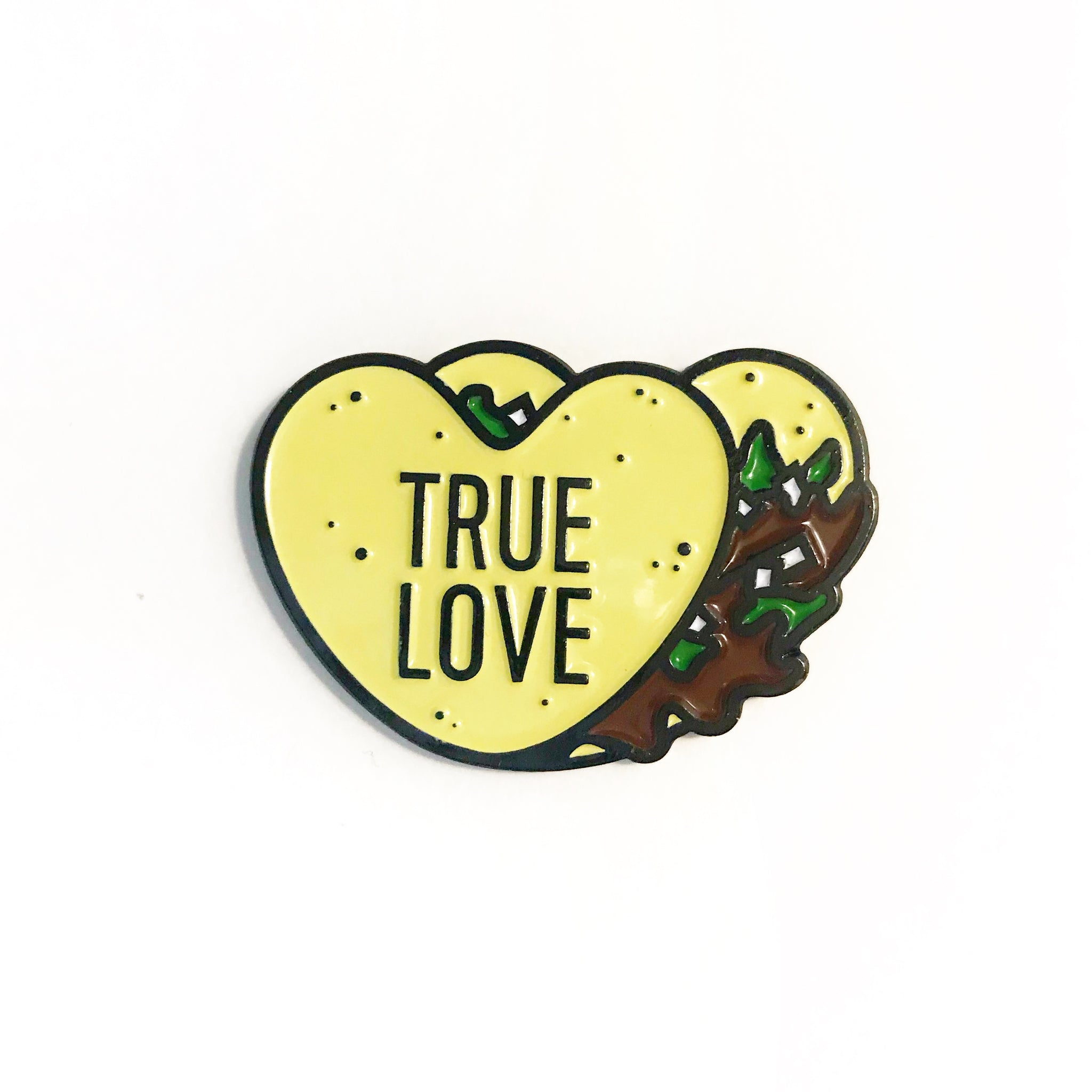 True Love Taco Enamel Pin