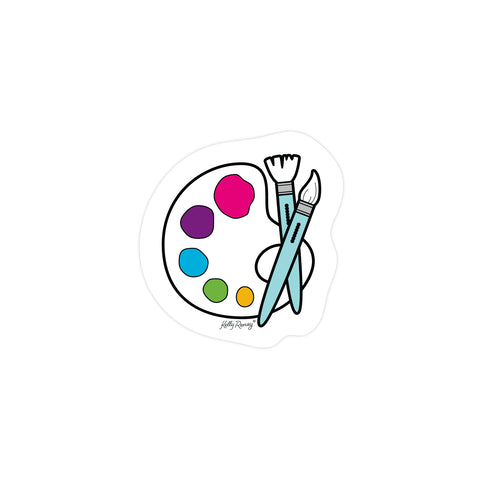 Paint Sticker