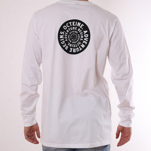 White Long Sleeve Tee