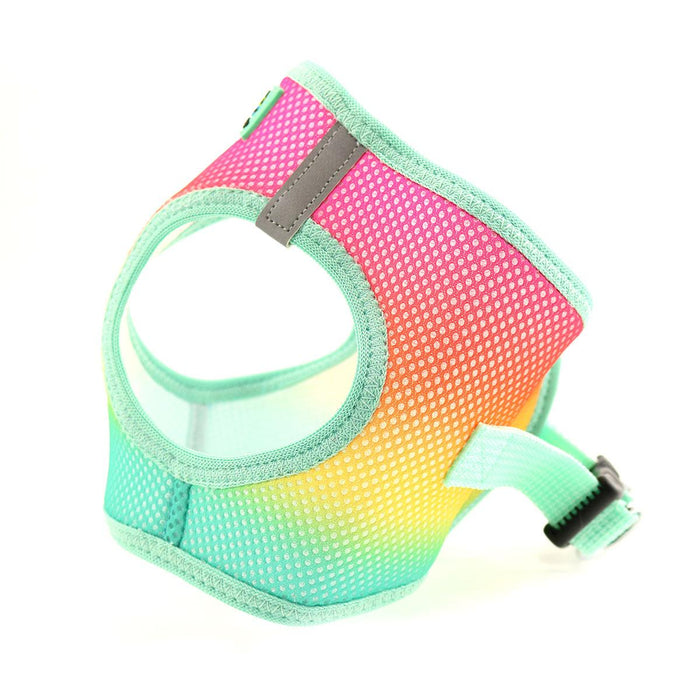 American River Choke Free Dog Harness by Doggie Design - Ombre Collection Beach Party
