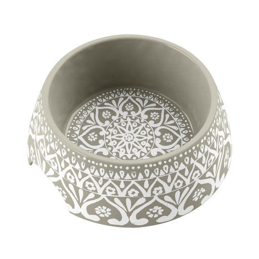 Boho Medallion Dog Bowl