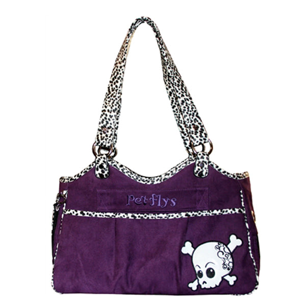 Bon Ami Punky Skully Dog Carrier by Pet Flys