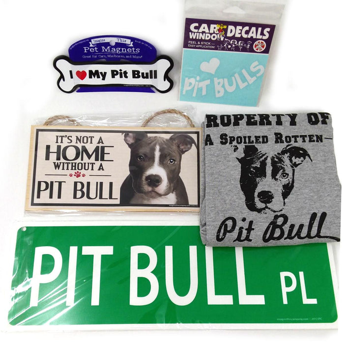 Breed Gift Box - Pitbull