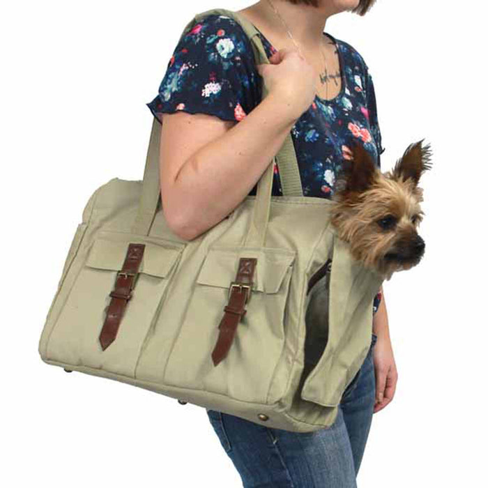Buckle Doggie Tote by Dogo