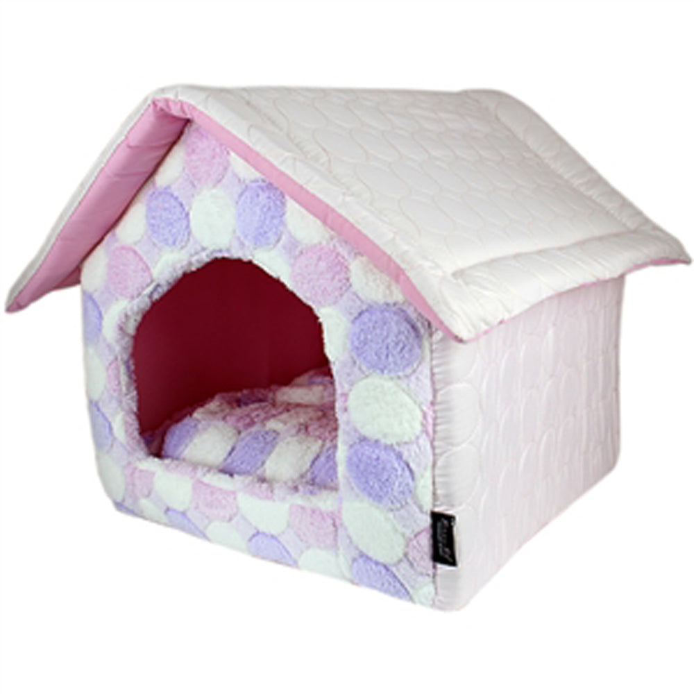 Cotton Candy Doggie House