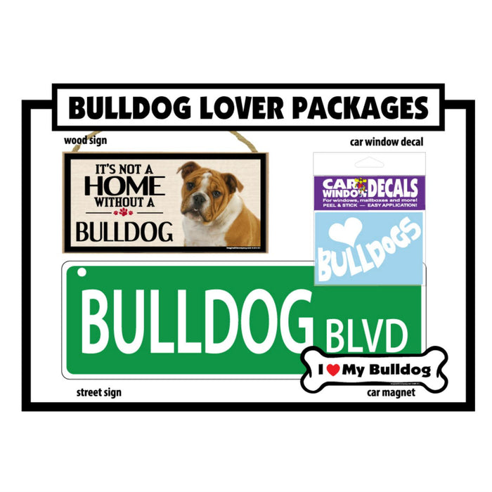 Breed Gift Box - Bulldog