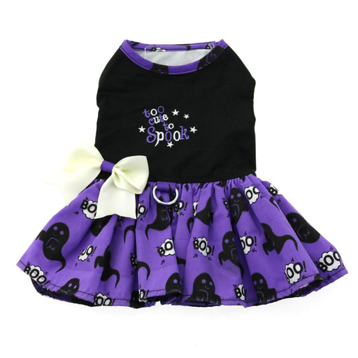 Too Cute to Spook - Halloween Dog Harness Dress by Doggie Design