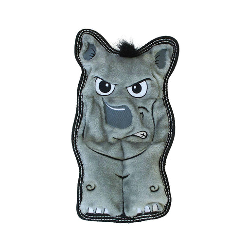 Invincibles Tough Seamz Doggie Toy - Rhino