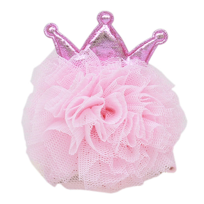 Princess Puff Dog Bow