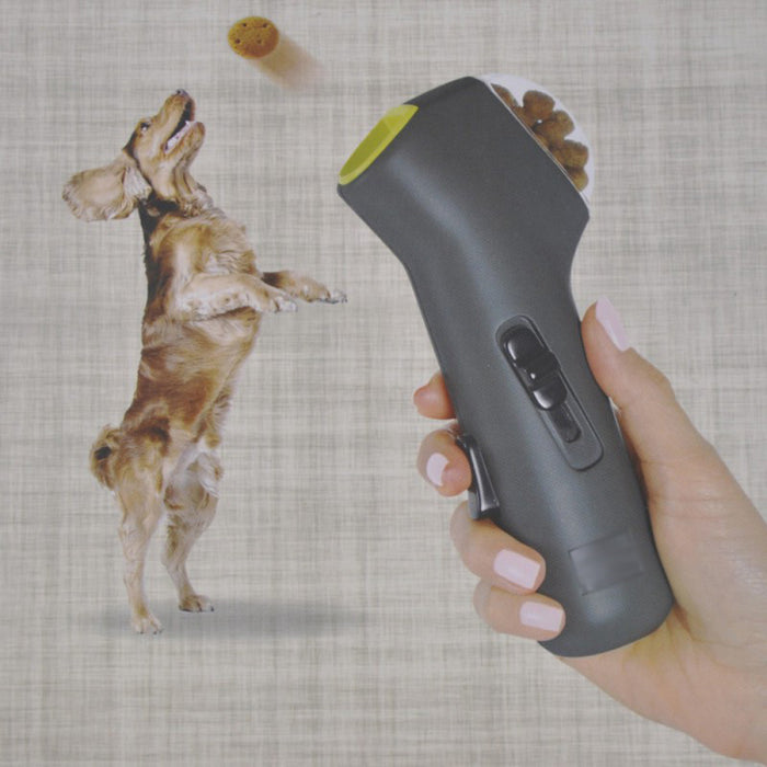 Interactive Dog Treat Launcher