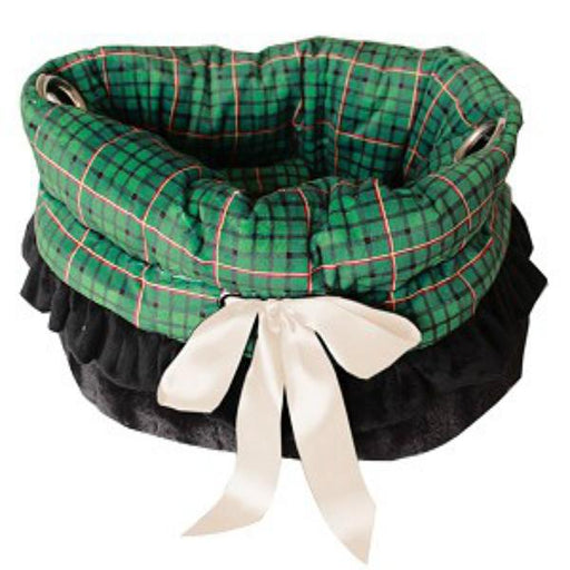 Reversible Snuggle Bugs Pet Bed, Bag, & Car Seat
