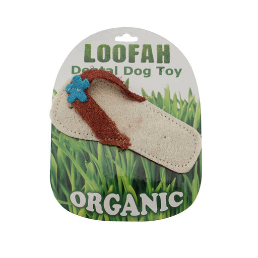 Sandal Loofah Dental Dog Toy