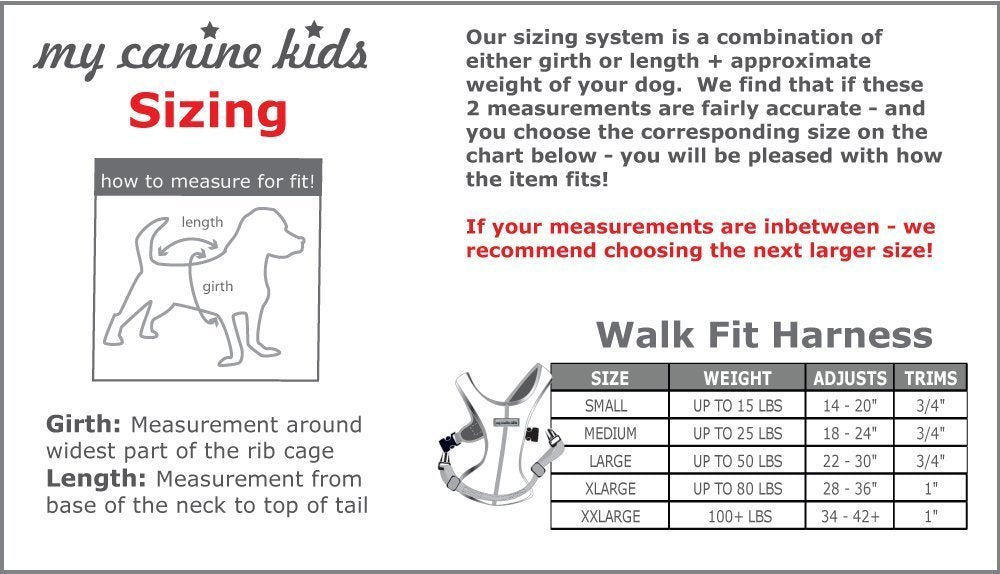 Walk-Fit Sports Dog Harness