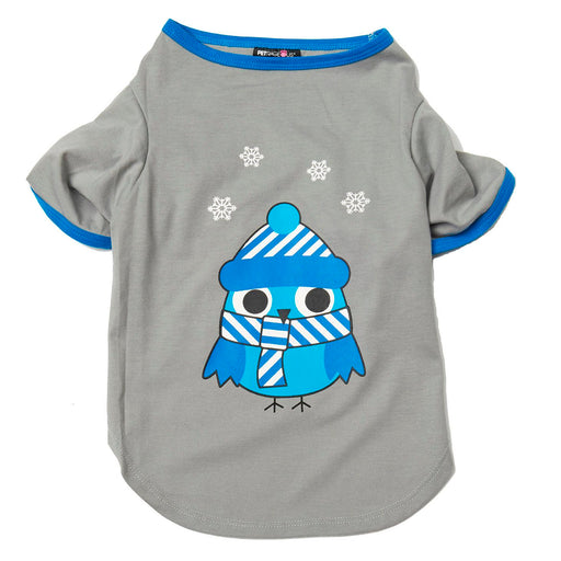 Winter Owl Dog Nightshirt