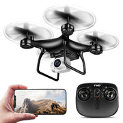 TXD-8S WiFi Drone with HD Camera, Gravity Sensor, RTF One Key Take Off/Landing, Optical Flow Positioning, Mode Headless Quadcopter