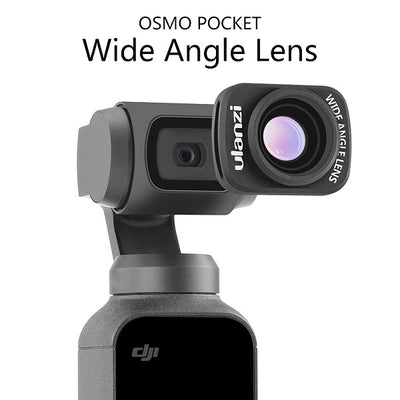 External Additional Lens,  Magnetic Structure for DJI OSMO Pocket Camera Handheld Gimbal Stabilizer Accessories