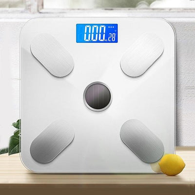 Bathroom Scales, Weighing Body Fat Scales, Solar Charging, Slim Design