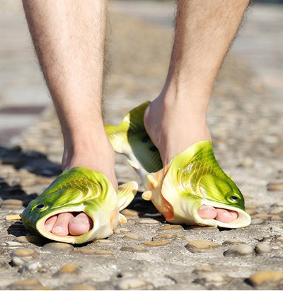 Fish Flip Flops | Unisex Sandals, Flip Flops, Slippers, Pool & Beach Shoes | Men, Women & Kids