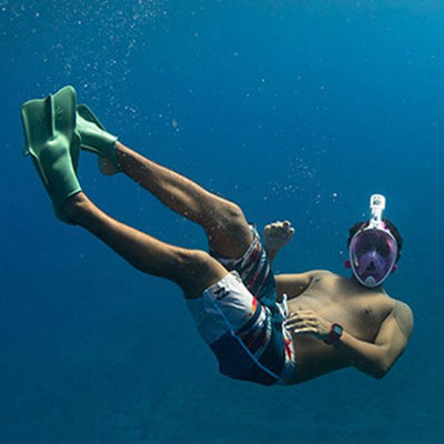 Snorkel Mask Outdoor Diving Equipment, Diving Goggles, Full Dry Snorkel