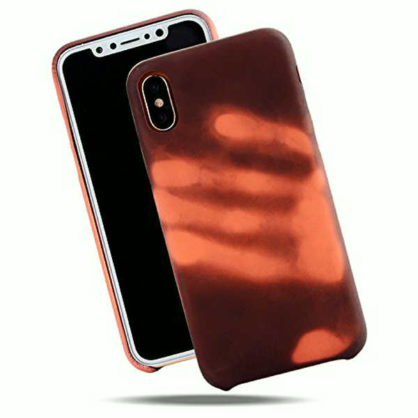 detailed look 9d96b 9e09f Heat Sensitive Phone Case for iPhone Thermal Sensor Phone Cover