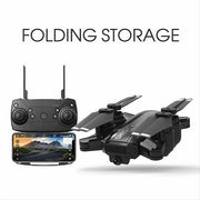 H1 WIFI 1080P HD Altitude Hode Optical Flow Foldable Selfie Quadcopter