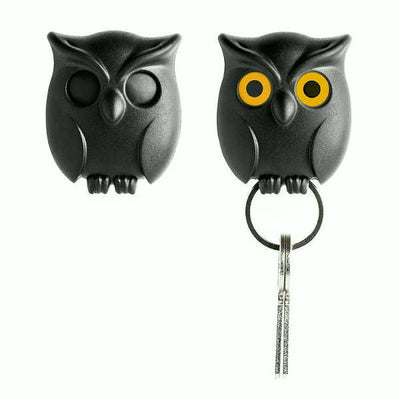 Night Owl Keyring Holder