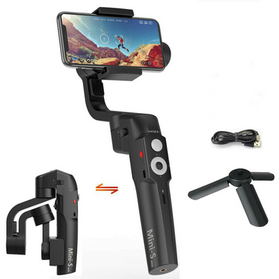 Mini-S Handheld 3-Axis Smartphone Gimbal Stabilizer for iPhone/Android