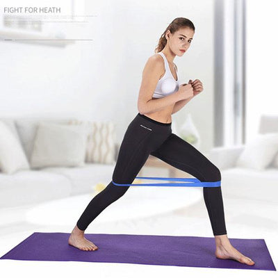 Resistance Bands Fitness, Stretch Belt Resistance Band Loop Yoga Pilates Home Fitness Exercise