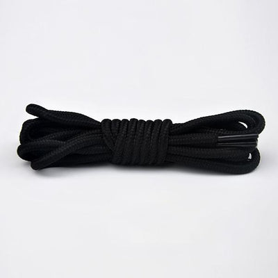 Round Athletic Shoelaces for All Shoe Types, Several Lengths, for Sneaker and Hiking Boot Laces (1 Pair)