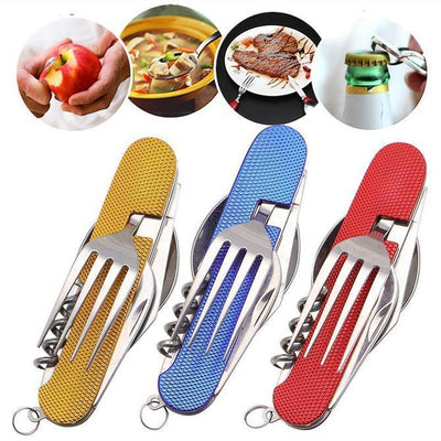 6 in 1 Hiking & Camping Multifunction Tool