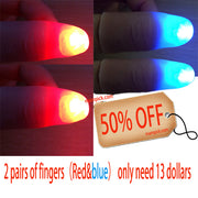 Glowing Fingers, 2 Pairs of Fingers Get 50% OFF. Extra Discount & FREE SHIPPING on $59+!
