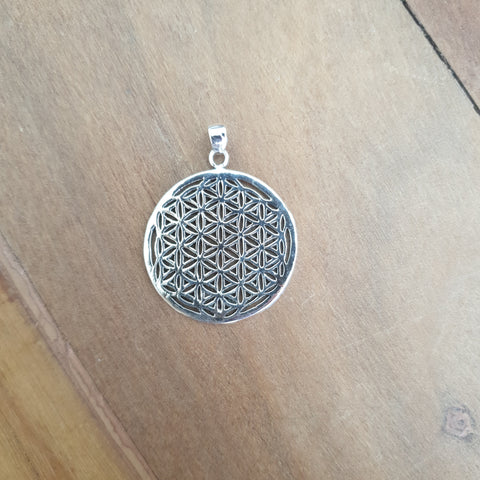 Flower of Life - 925 Silver Pendant