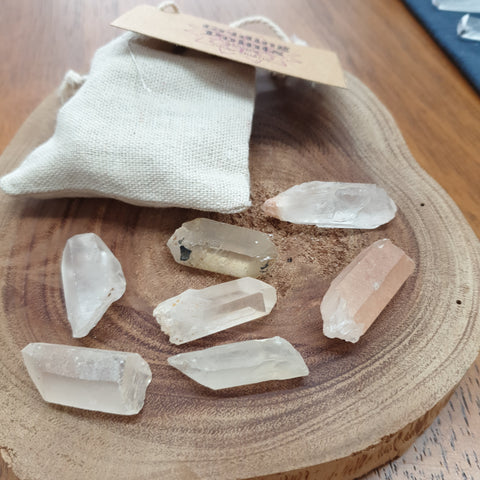 Quartz Gridding Points - 100gm bag