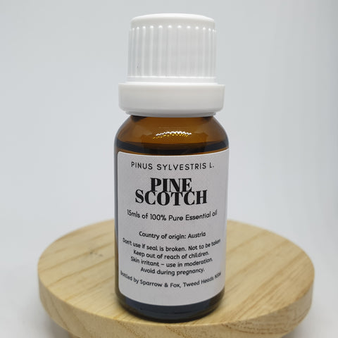 Pine Scotch essential oil Sparrow and Fox