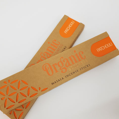 Patchouli Sticks - Organic Goodness Masala Incense
