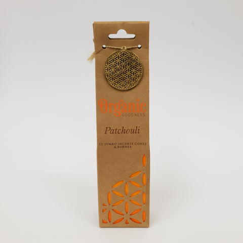 Patchouli - Organic Goodness Masala Incense Cones
