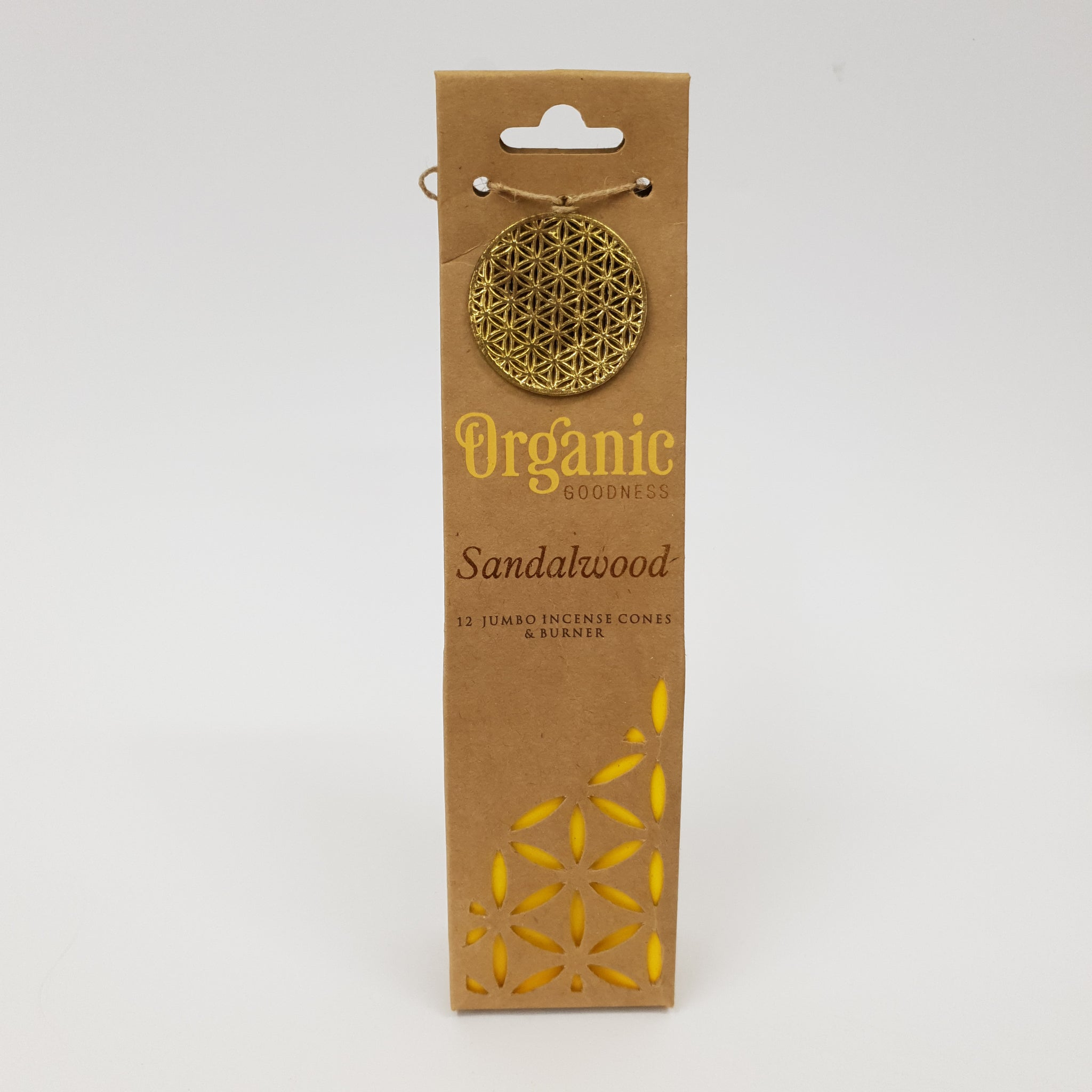 Sandalwood - Organic Goodness Masala Incense Cones
