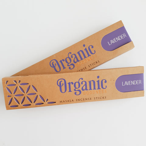 Lavender Sticks - Organic Goodness Masala Incense
