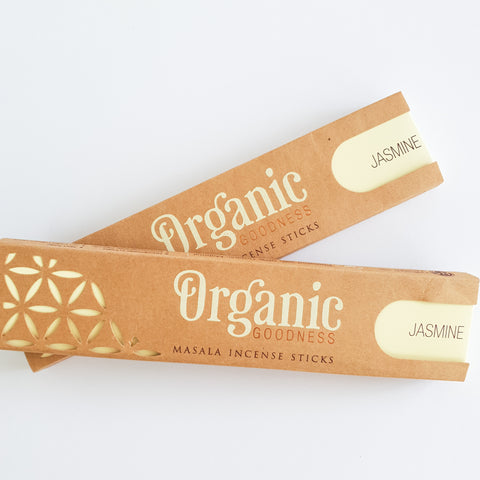 Jasmine Sticks - Organic Goodness Masala Incense